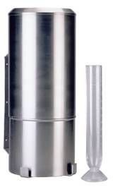 Hellmann rain gauge