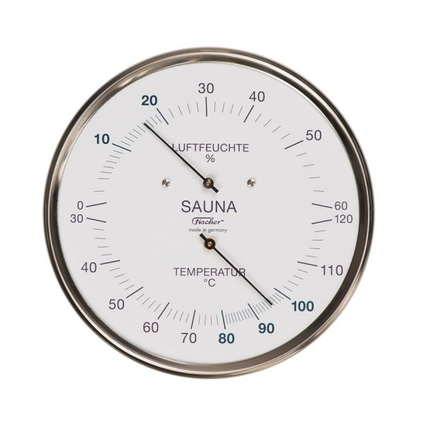 194/195.01 | Sauna-Thermohygrometer 130/160 mm