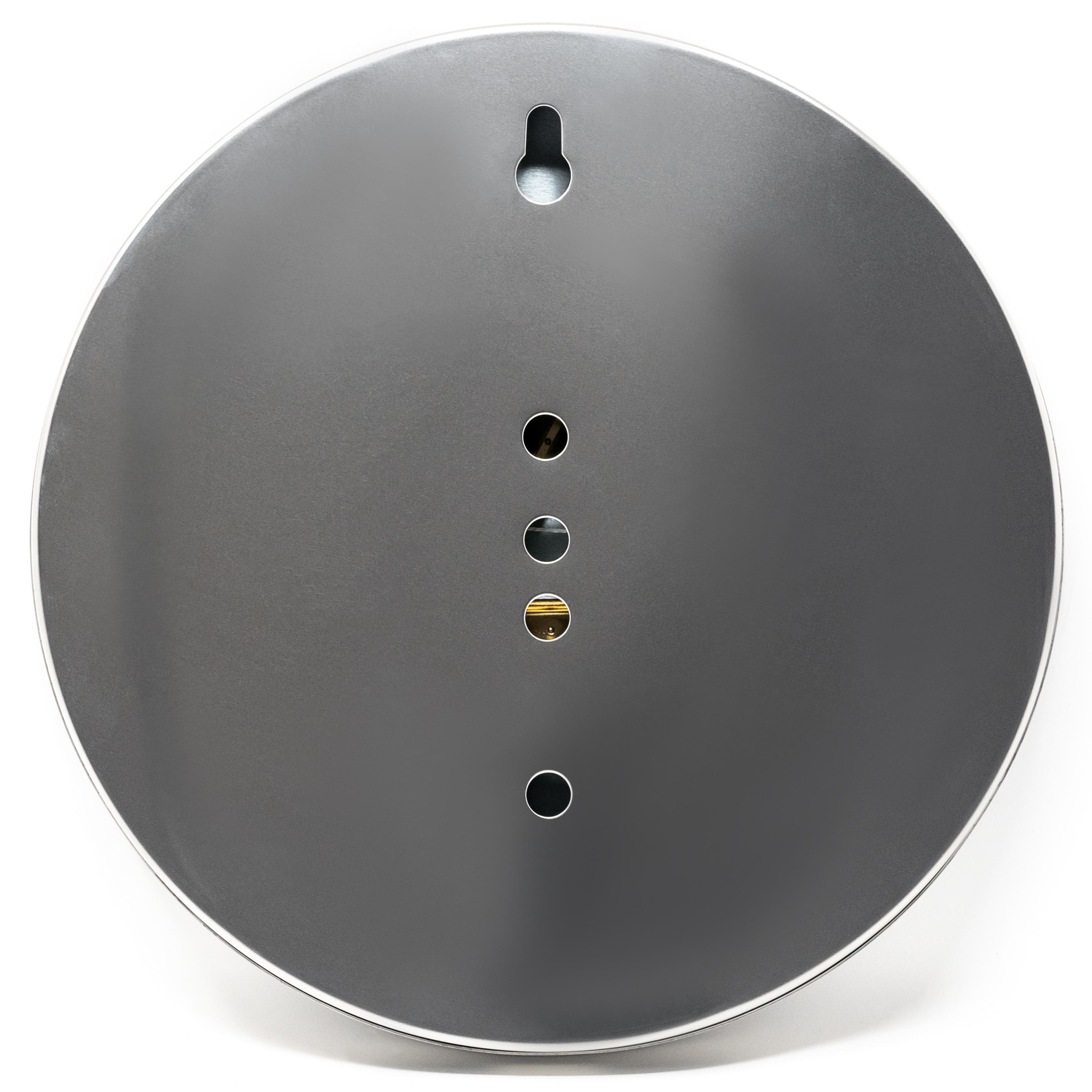 Sauna-Thermohygrometer Edelstahlgehäuse Ø 130 mm