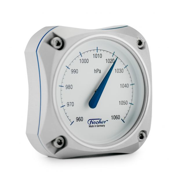 1590B | Cockpit Barometer Silver Edition