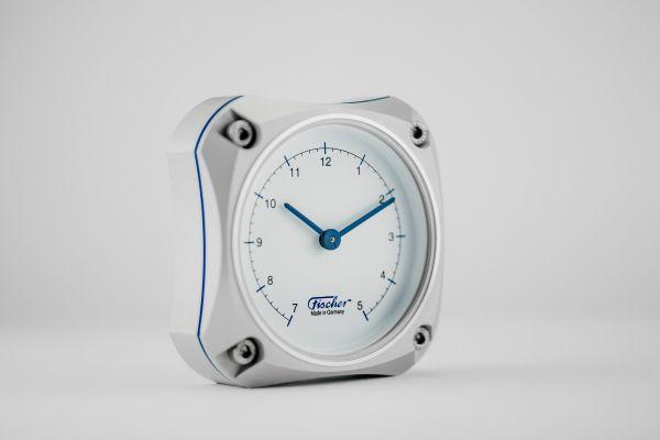 1590U | Cockpit Uhr Silver Edition