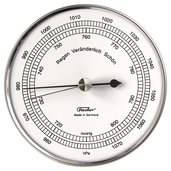 15.01 | Barometer Edelstahl