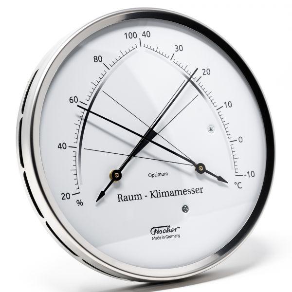 146.01 | Raum-Klimamesser Edelstahl