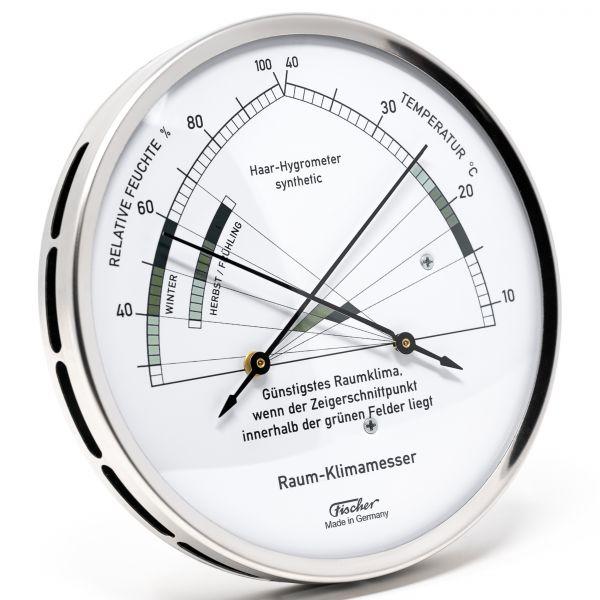 1222-01 | Fischer Wohnklima-Hygrometer mit Thermometer