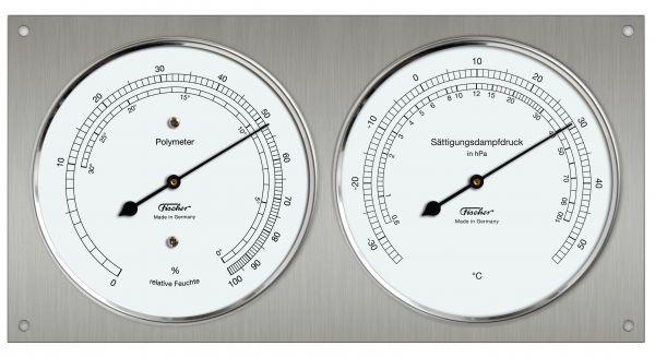 Polymeter with Hair Hygrometer